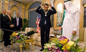 Barack Saudi medal