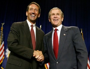US-BUSH-SANFORD-FUNDRAISER