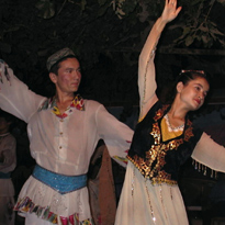 Uighers.dancers