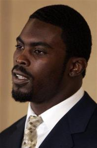 Vick Surrenders Football